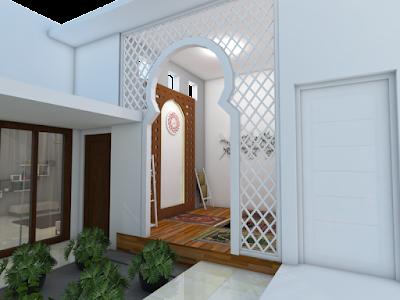 Desain Terbaru Mushola Minimalis Didalam Rumah Sederhana