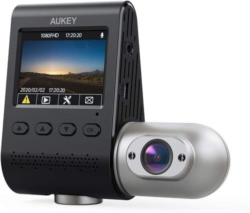 Review AUKEY Dual Dash Cam Uber 3 in 1 FHD Car Camera