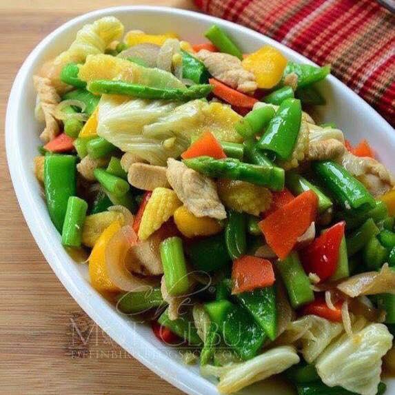 resepi sayur campur
