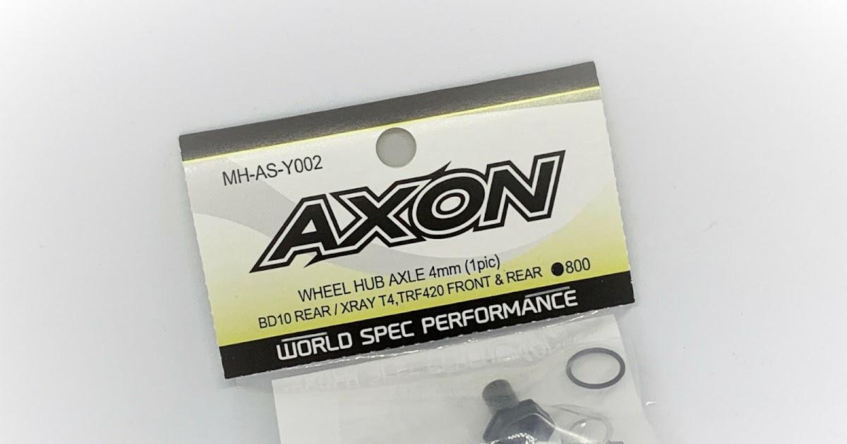 Axon Wheel hub Axles Review TRF420 , BD10, Xray T4