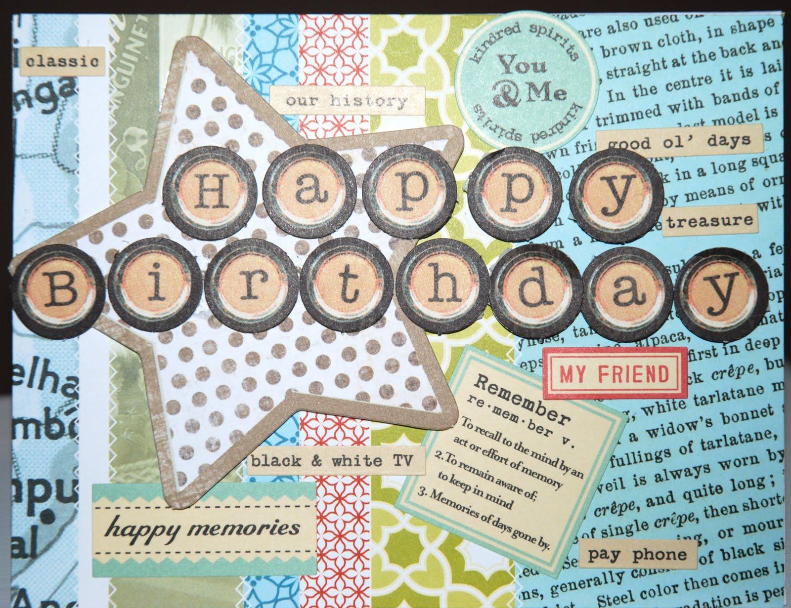Cardmonkey S Paper Jungle Happy Birthday To A Childhood Friend
