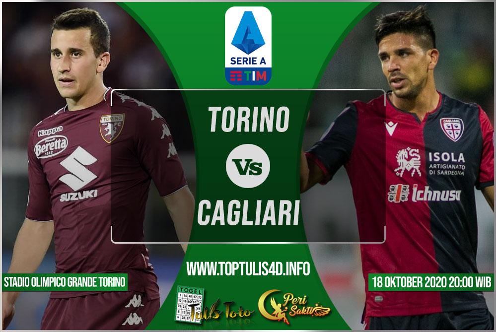 Prediksi Torino vs Cagliari 18 Oktober 2020