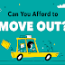 Can I Afford to Move Out? #infographic