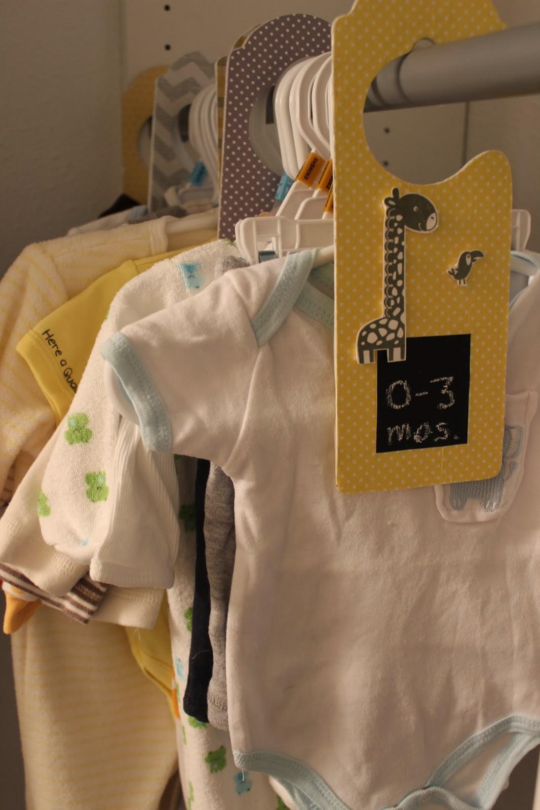 Diy Baby Closet Dividers Love Create Celebrate