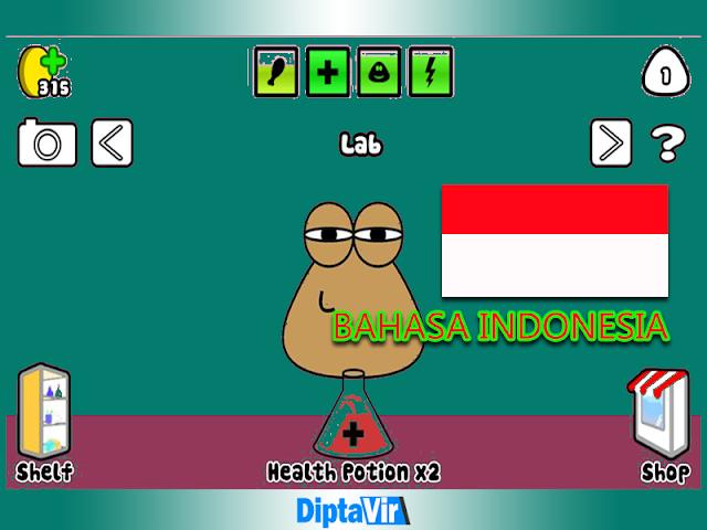 Cara Rubah Game POU Berbahasa Indonesia Cepat Dan Mudah