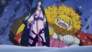 ワンピースアニメ 992話 ワノ国編   イゾウ かっこいい IZO   ONE PIECE 白ひげ海賊団隊長