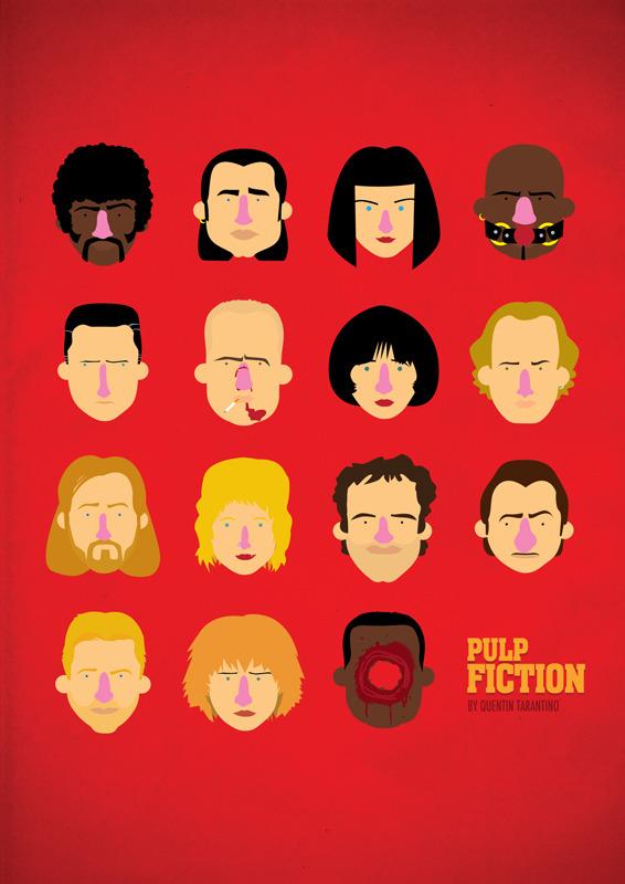 Olaf Cuadras Pulp Fiction Poster Design