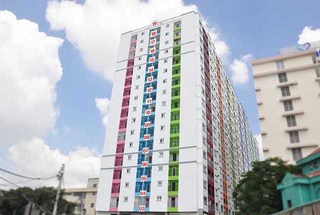 Tiến độ căn hộ 8x Plus đường Trường Chinh mới nhất