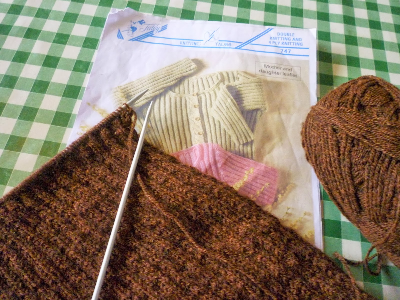 2f1fda25cdb25 Knitting Update  Knit for Victory and the 3 Hour Sweater - Lovebirds ...