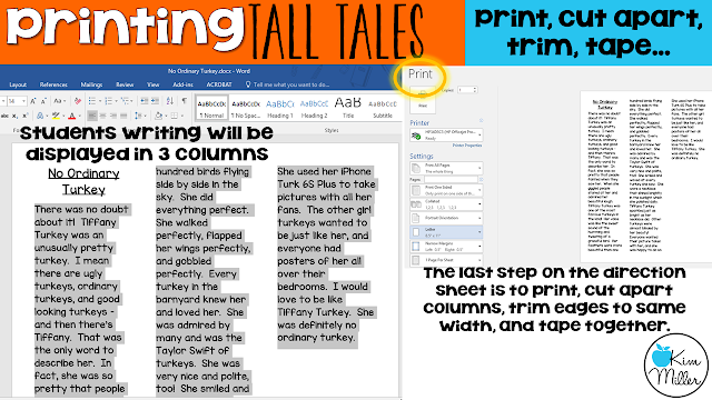 How to Print L-O-N-G Tall Tales