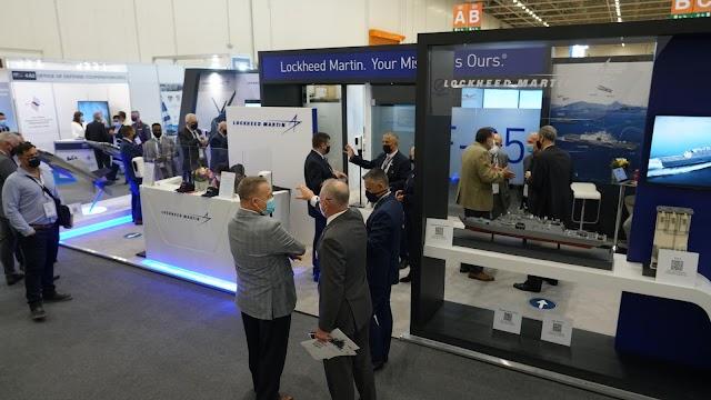 Six vice-présidents de Lockheed Martin dans DEFEA