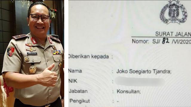 Jadi Tersangka, Brigjen Prasetijo Perintahkan Bakar Surat Jalan Djoko Tjandra