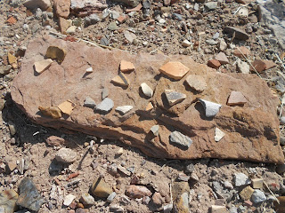 anasazi ruins pot shards
