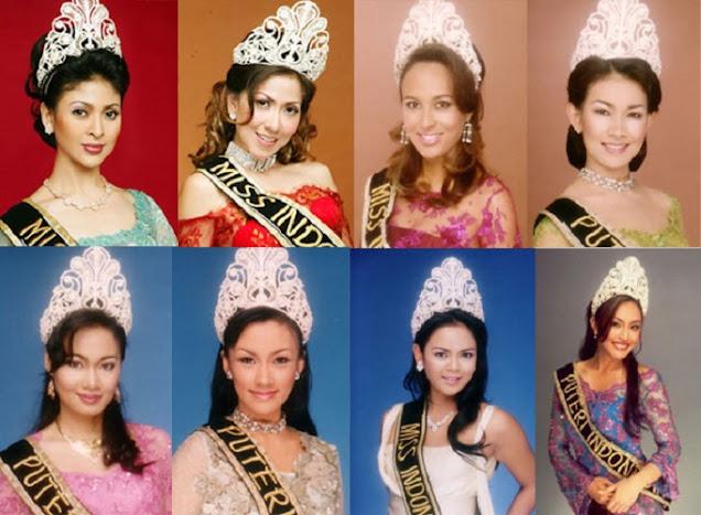 pemenang puteri indoesia 1992-2004