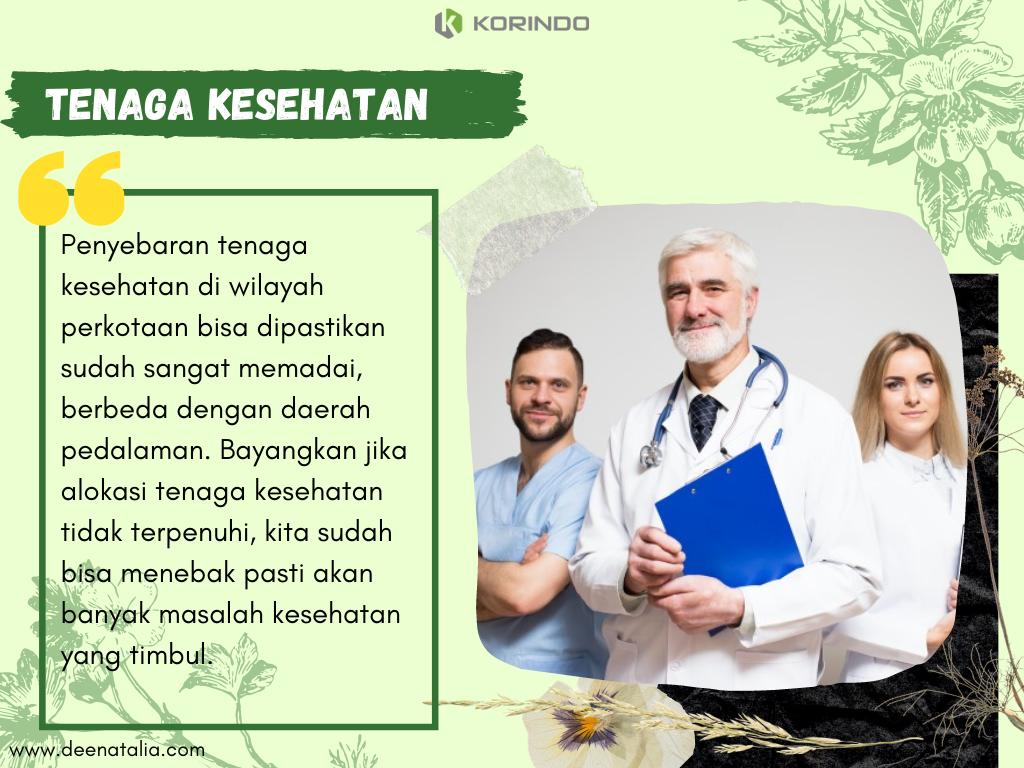Tenaga kesehatan daerah pedalaman