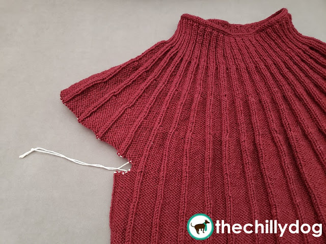 Knitting Video Tutorial: How to prevent holes in the underarm gaps for top-down, seamless yoke sweater sleeves.