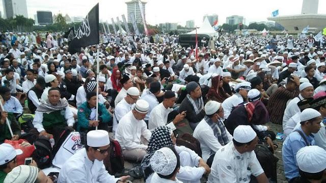Istana Nilai Kesuksesan Reuni 212 Bukti Keberhasilan Jokowi