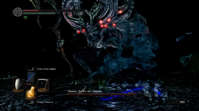 Manus padre del Abismo Dark Souls Remastered