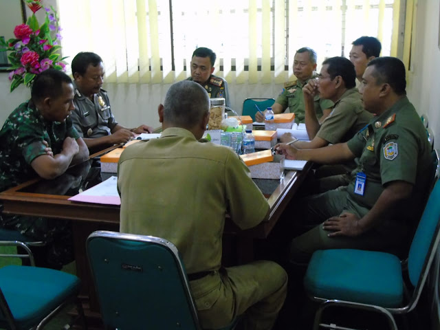 Kodim Karanganyar – Rakor Pelaksanakan Pengamanan Pilkades Tahap III Tahun 2020 Kabupaten Karanganyar