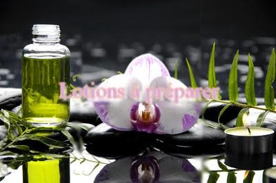 Préparer sa lotion