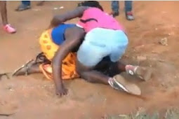 Girl P@nt Down While Fighting With Her Fiance Cheating Partner In Public (watch)