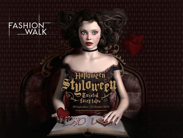 【好玩萬聖節】嘩鬼聚集銅鑼灣 Fashion Walk 上演Halloween Styloween 2016