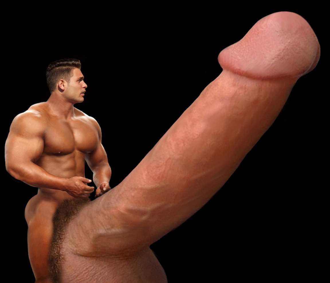 Enormous Black Gay Dick