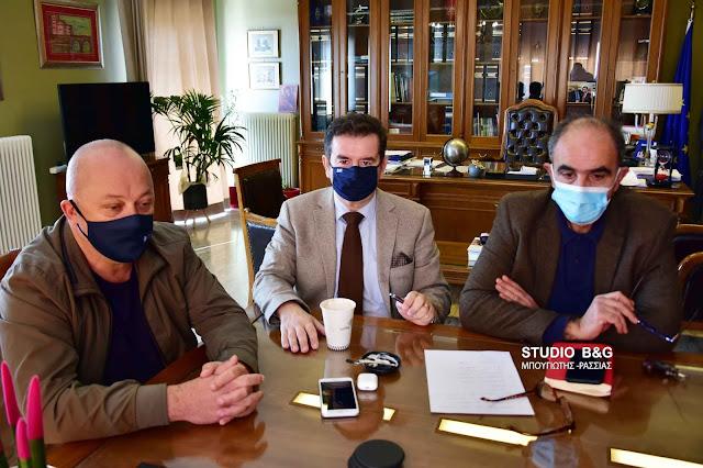 Αργολίδα: Τηλεδιάσκεψη με στελέχη του ΟΣΕ για την σιδηροδρομική γραμμή Κόρινθος - Ναύπλιο