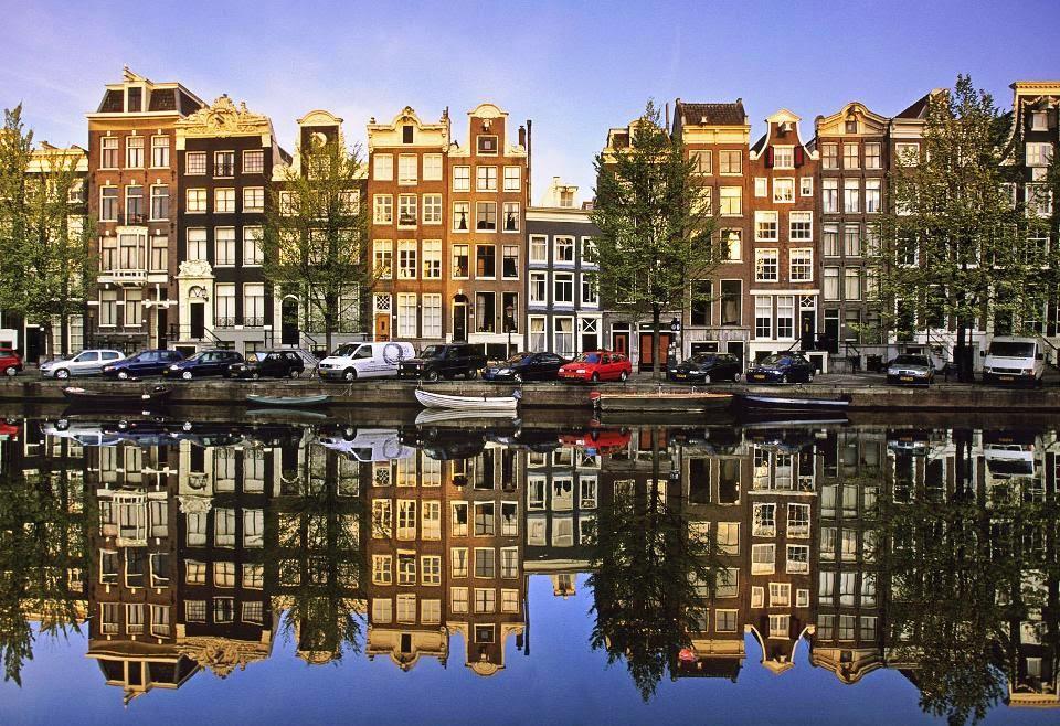 Canal Singel em Amsterdam