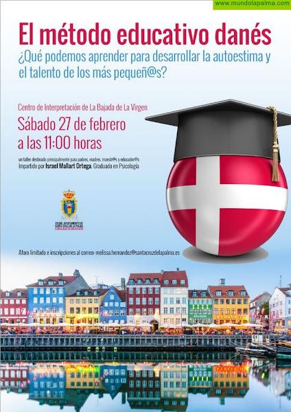 El Ayuntamiento de Santa Cruz de La Palma organiza una jornada informativa sobre el  método educativo danés