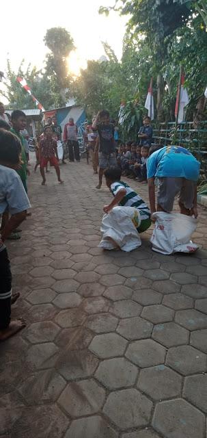Warga Desa Kerpangan Sambut HUT RI ke  75