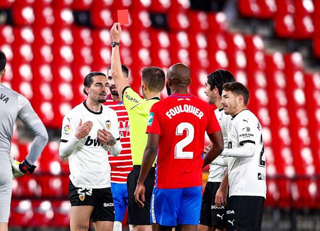 ملخص مباراة غرناطة وفالنسيا (2-1) اليوم في الدوري الاسباني