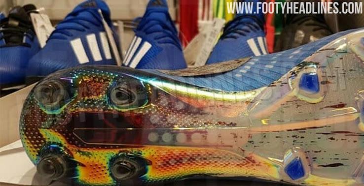 X 2020 Adidas Fußballschuhe Atemberaubende geleaked blaue nwv08mN