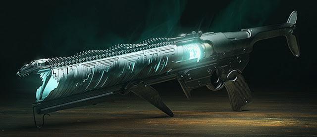 Witherhoard Exotic Grenade Launcher