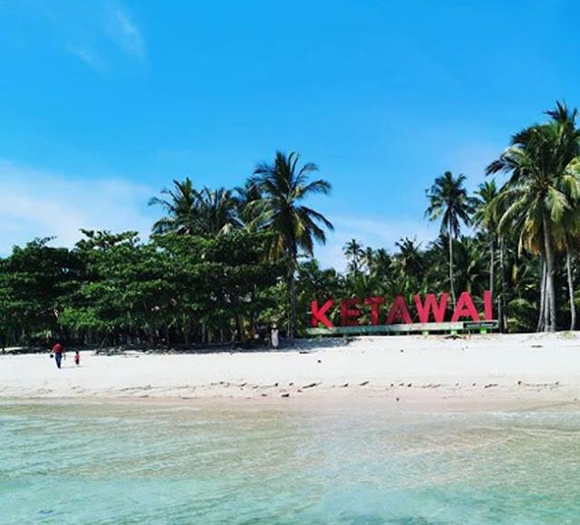 Pulau Ketawai-Bangka Belitung