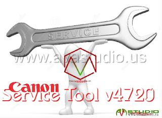 Canon Service Tool V.4720
