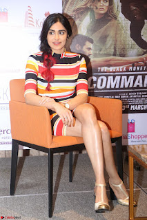 Adha Sharma in a Cute Colorful Jumpsuit Styled By Manasi Aggarwal Promoting movie Commando 2 (148).JPG