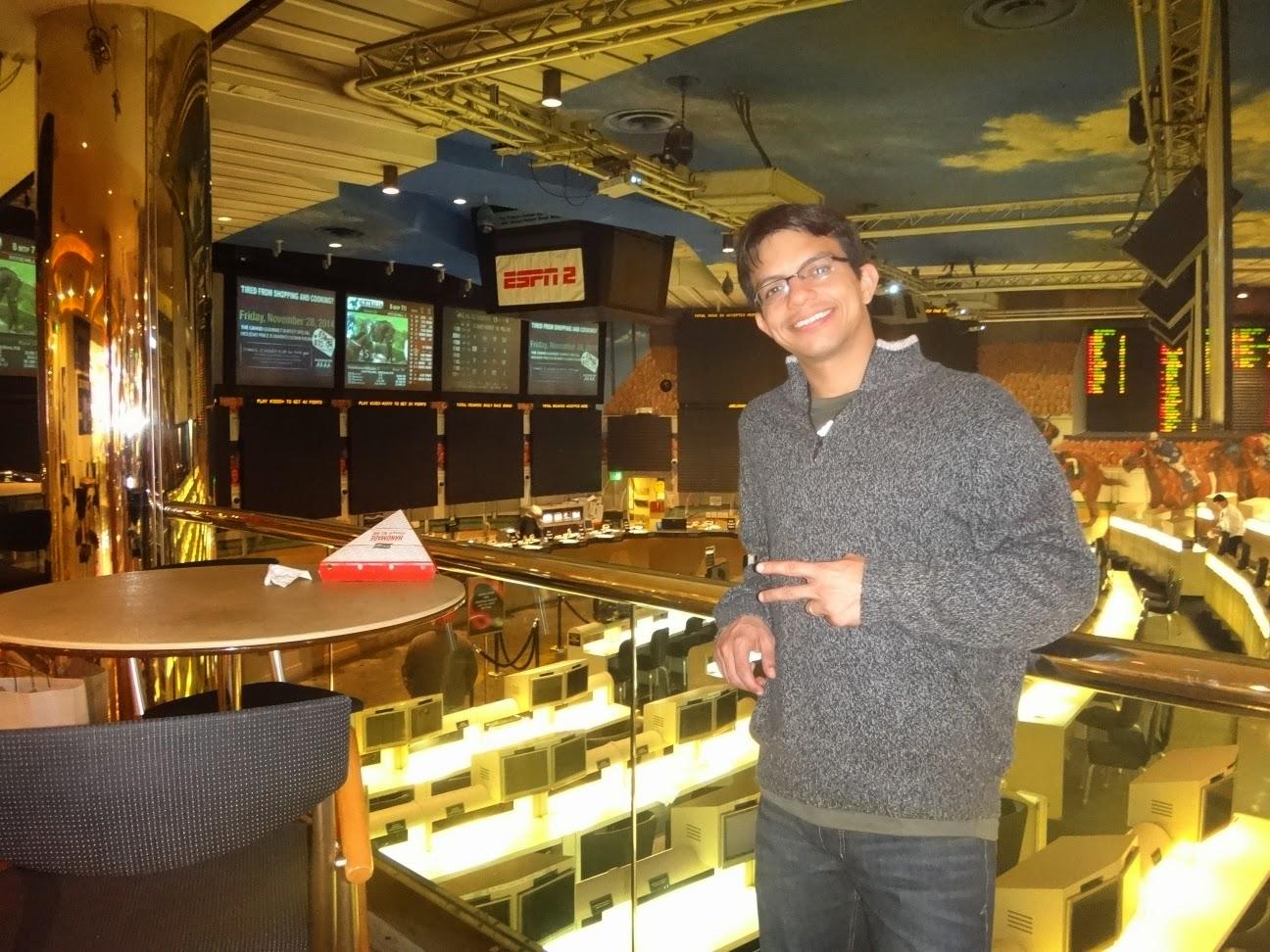 casa de apostas no hotel Ballys em Las Vegas