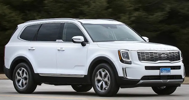 Kia telluride SUV (Fortuner/Endeavour Rival) On The Cards For India kia Flagship telluride SUV-2