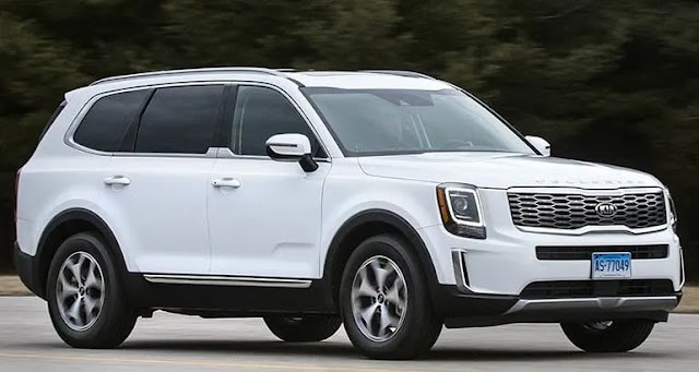 Kia telluride SUV (Fortuner/Endeavour Rival) On The Cards For India kia Flagship telluride SUV-2 - Teamstechnology