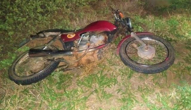 Uma pessoa morre e outra fica ferida em acidente de moto em Livramento