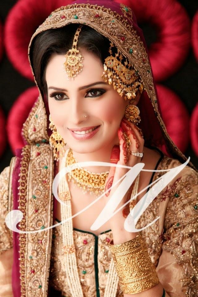 makeup bridal madeeha salon pakistani pakistan brides bride party dulhan trendy lahore indian bridals asian bridle very mehndi wear pretty