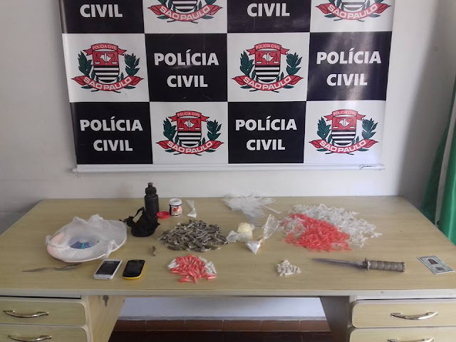 POLÍCIA CIVIL APREENDE E REPRIME LOCAL DE PREPARO DE DROGAS NA VILA NOVA EM REGISTRO-SP