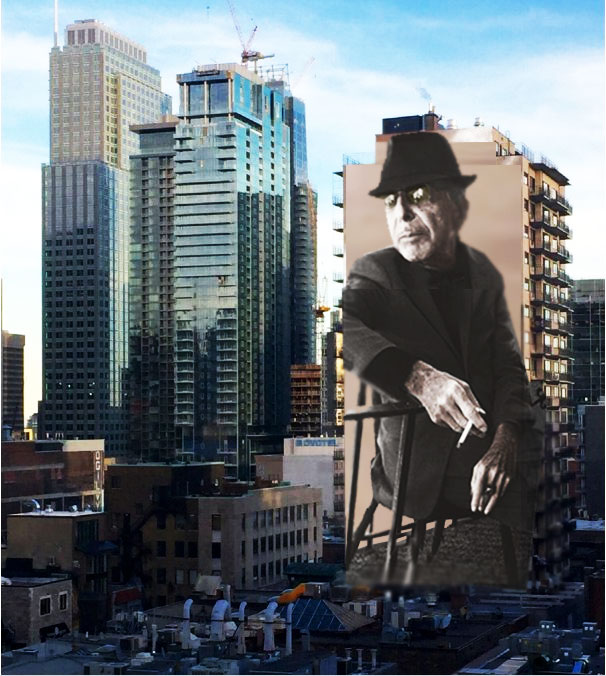 Mother of darkness august 2017 for Mural leonard cohen