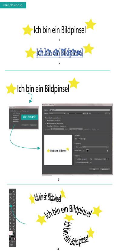 Bildpinsel nutzen in Adobe Illustrator