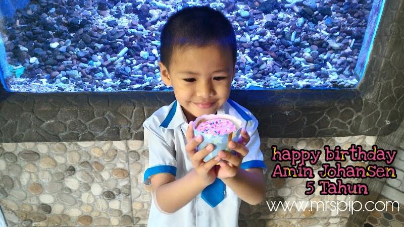 Happy Birthday Amin Johansen 5 Tahun || 11.11.2019