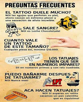 Preguntas frecuentes sobre tatuajes