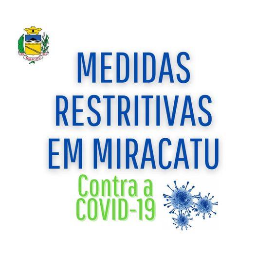 Medidas Restritivas contra a COVID-19 em Miracatu