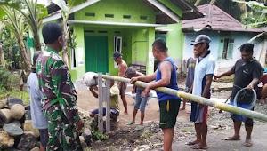 Antipasi Corona, Warga Mulai Terapkan Local Lockdown Dengan Pasang Portal