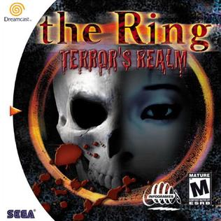 The Ring: Terror's Realm Sega Dreamcast horror game cover art